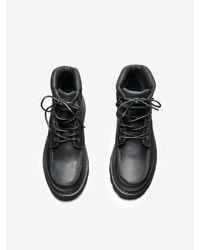 OAK - Black Lewis Boot for Men - Lyst