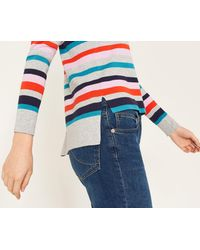Oasis - Multicolor Rainbow Stripe Knit - Lyst