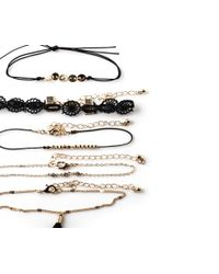 Oasis - Metallic 5 Pack Bracelet Set - Lyst