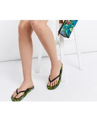 Oasis - Multicolor Printed Flipflop - Lyst