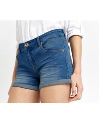 Oasis - Blue Millie Denim Short - Lyst
