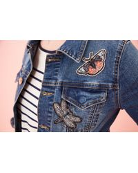 Oasis - Multicolor Butterfly Badge - Lyst