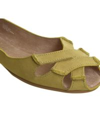 Office - Green Dainty Softy Peep Toe Shoes - Lyst