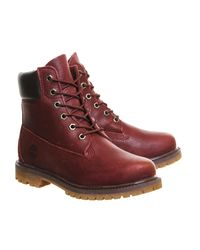 Timberland - Purple Premium 6 Boots for Men - Lyst