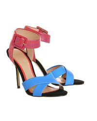 Office - Blue Solo Single Sole Sandal - Lyst