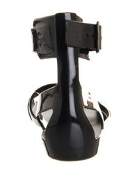 Hunter - Black Original Sandal - Lyst