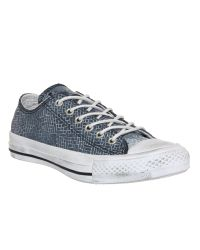 Converse | Blue All Star Low | Lyst