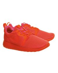 Nike - Red Roshe Run Natural Motion Prm Sneakers for Men - Lyst