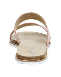 Office - Pink Sicily Double Strap Sandals - Lyst