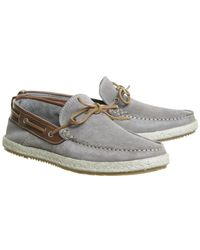 Office - Gray Done Boat Shoe for Men - Lyst