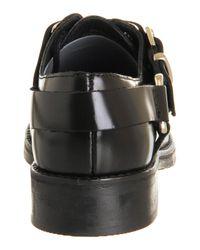 Office - Black Venom Stirrup Shoe Boots - Lyst