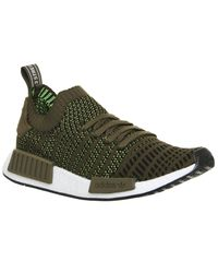 Lyst - adidas Nmd R1 Prime Knit Trainers in Green for Men c62814b0b