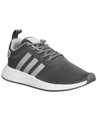 46d1f738a1c1c Lyst - Adidas Nmd R2 Trainers in Gray for Men