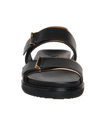 Office - Black Bree Footbed Slide - Lyst