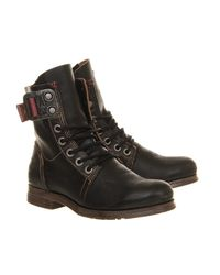 Fly London - Black Stay Lace Up Boots - Lyst