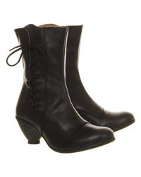 Fly London - Black Phal Lace Up Boots - Lyst