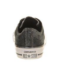 Converse - Black All Star Low - Lyst