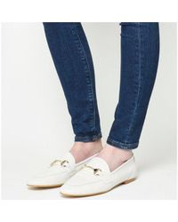 Office - White Destiny Trim Loafers - Lyst
