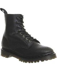 Dr. Martens - Black Hadley 8 Eyelet Boot - Lyst