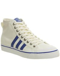 Adidas - White Nizza Hi for Men - Lyst