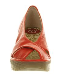 Fly London - Red Yaff Slingback - Lyst