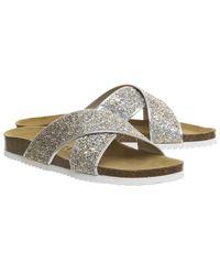 Office - Metallic Hoxton 2 Sandals - Lyst