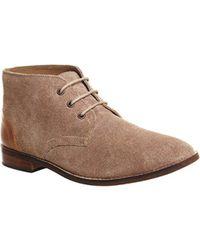 Office - Natural Camden Chukka Boots for Men - Lyst