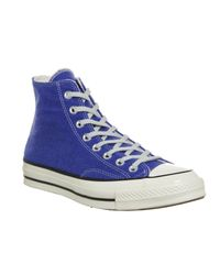 Converse - Blue All Star Hi 70's for Men - Lyst