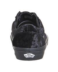 Vans - Black Old Skool Sneaker - Lyst