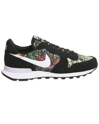 Nike - Black Internationalist Trainers for Men - Lyst