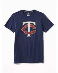 Old Navy - Blue Mlb® Team Graphic Tee for Men - Lyst