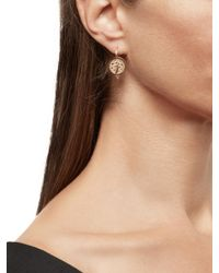 Temple St. Clair - Metallic Tree Cutout Earrings - Lyst