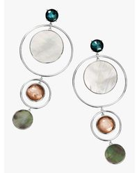 Ippolita - Metallic Wonderland Statement Earrings - Lyst