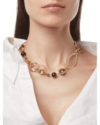 Stephanie Kantis - Metallic Peace Necklace - Lyst