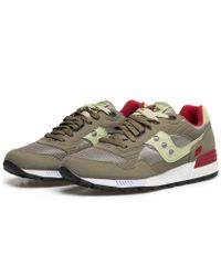 Saucony | Olive Green Shadow 5000 Sneakers for Men | Lyst