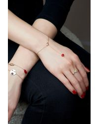 Alison Lou - Red Kiss By The Yard Bracelet - Lyst