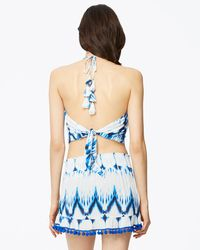 Ramy Brook - Blue Printed Deny's Top - Lyst
