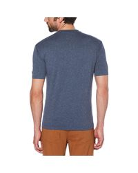 Original Penguin - Blue Seam Sealed Tee for Men - Lyst