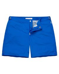 Orlebar Brown - Blue Bulldog Cotton Twill for Men - Lyst