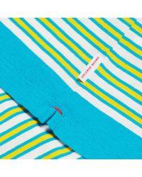 Orlebar Brown - Blue Sammy T-shirt Mit Klassischer Passform In Toucan/cloud/azure for Men - Lyst
