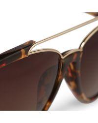 Orlebar Brown - Brown Aviator Sunglasses for Men - Lyst