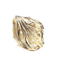 Oscar de la Renta | Metallic Knotted Multi-strand Bracelet | Lyst