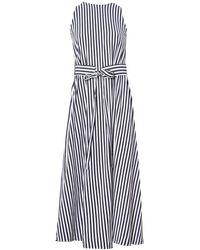 Mds Stripes - Blue Kelly A Line Dress - Lyst