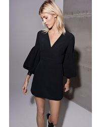 Alexis - Ellena Dress In Black - Lyst