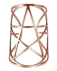Pamela Love | Pink Mini Pentagram Cuff | Lyst