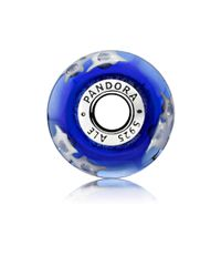 Pandora - Blue Night Sky Charm - Lyst