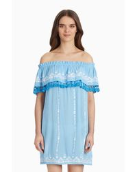 Parker - Blue Jeanette Cover Up - Lyst