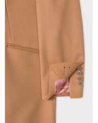 Paul Smith - Natural Beige Linen Trench Coat - Lyst