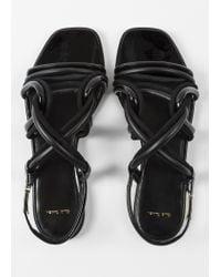 Paul Smith - Black Suede 'Carlin' Sandals - Lyst