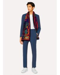 Paul Smith - Tailored-fit Prussian Blue Wool-mohair Suit for Men - Lyst